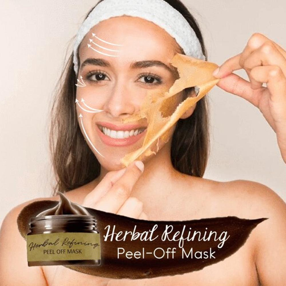 120g Beauty Peel off Mask Tearing Remove Blackhead Cleaning Pores Shrink Skin Care Herbal Refining Peel Off Mask|Treatments & Masks|   - AliExpress
