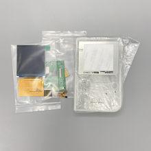 Fácil de instalar 2.6 polegadas tamanho completo ips alto brilho lcd com concha gbp para nintendo gameboy bolso gbp