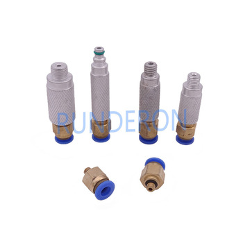 цена на CRS External Common Rail Injector Fuel Pipe Return Connector Joint Kit Diesel Backflow