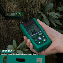 Digital Wood Moisture Meter Humidity Tester LCD Display Automatic Manual Measurements Timber Damp Detector Battery Indication стоимость
