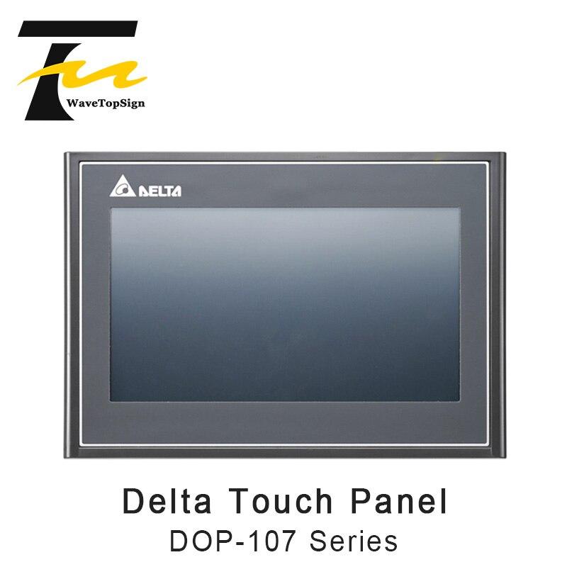 Série 7-polegada Tela de Toque HMI Delta DOP-107 Substitui DOP-B07SS411 / DOP-B07S410 com 3M Cabo