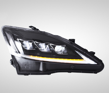 Full LED Front Lamps Headlights Assembly For LEXUS IS250 220D 350 ISF 2006-2012