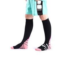 Компрессионные носки brothock нейлоновые медицинские чулки для