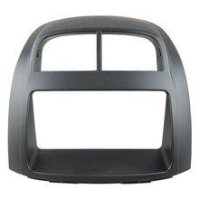 Fáscia de rádio do carro do ruído duplo para toyota passo 2004-2010 kit traço facia instalar placa de rosto guarnição estéreo capa áudio moldura console