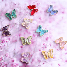 5 шт Стразы для ногтей в виде бабочек