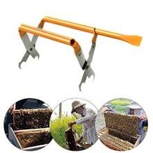 цена на Stainless Steel Bee Hive Frame Holder Lift Beekeeping Tools Beekeeping Equipment Bee Hive Frame Holder Frame Lifter