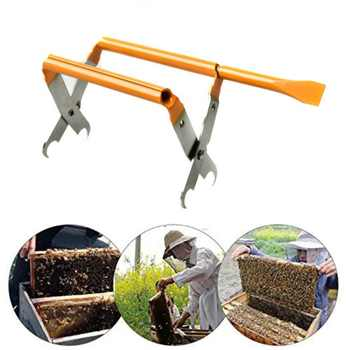 Stainless Steel Bee Hive Frame Holder Lift Beekeeping Tools Beekeeping Equipment Bee Hive Frame Holder Frame Lifter - DISCOUNT ITEM  32% OFF Home & Garden