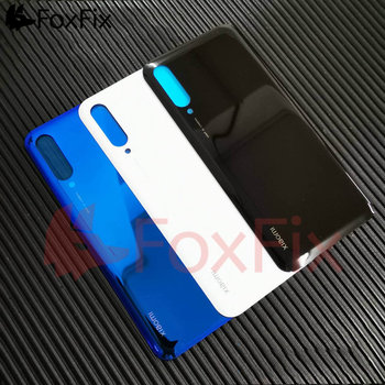 For Xiaomi Mi A3 Back Battery Cover Glass Mi9 Lite Mi CC9e CC9 Rear Door Housing Case Panel For Xiaomi Mi 9 Lite Battery Cover 10pcs lot for xiaomi mi 8 mi8 se mi 8se battery back cover rear door housing side key replacement repair spare parts replacement