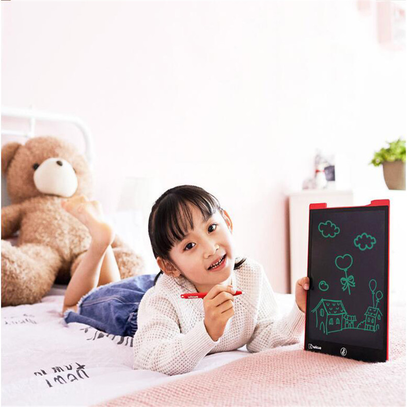 Image 4 - New Xiaomi Wicue 12 Inchs / 10 Inch LCD Handwriting Board Writing Tablet Digital Drawing Imagine Pad Expanding Idea Pen for KidsSmart Remote Control   -