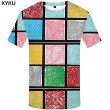 3d Tshirt Geometric T-shirt Men Rubik'S Cube Funny T shirts Flower Tshirts Casual Russia Tshirt Printed Gothic Anime Clothes цена