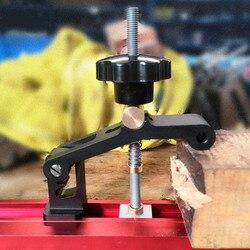 Uniwersalna prowadnica ukośna t-track bloki zaciskowe bloki zsypowe zaciski do obróbki drewna na biurko do obróbki drewna