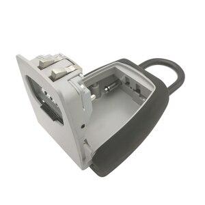 Image 3 - 키 스토리지 벽 마운트 알루미늄 합금 키 안전 상자 비바람에 견디는 잠금 야외 키 안전 상자 보안 주최자 상자