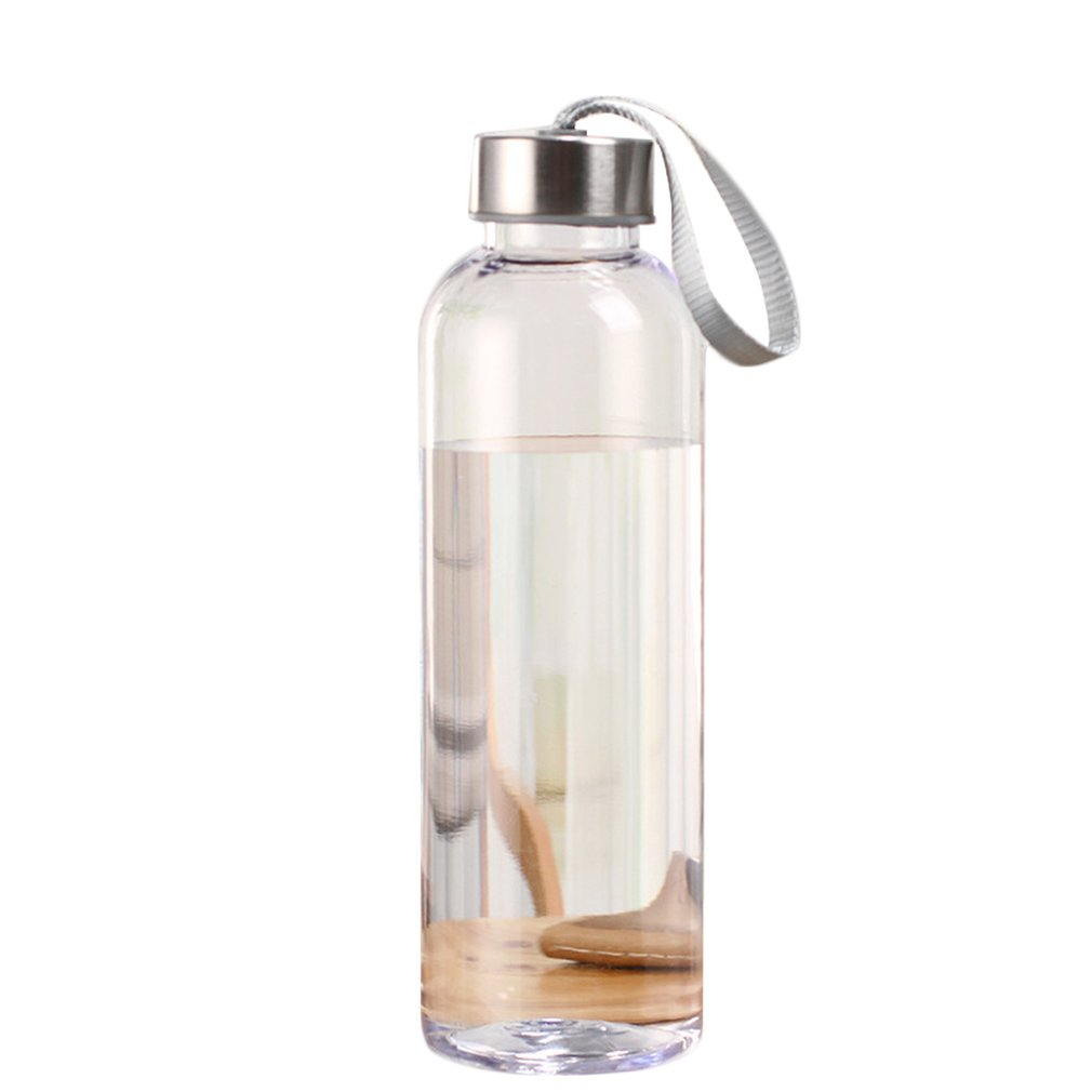 300/400/500ml Plastic Outdoor Sports Bottle Leak-Proof Travel Cup Portable Space Cup Bicycle Carrying Practical Cup Juicer