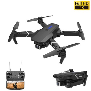 DJLS-E525 Drone 4k Profesional RC Dron Quadcopter Foldable Toy Drone With Camera HD 4K WIFi FPV Drones One Click Back Mini Drone with an extra battery original zerotech dobby pocket selfie drone fpv with 4k hd camera gps mini rc quadcopter drone