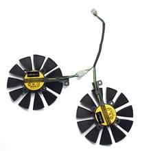 87mm PLD09210S12HH PLD09210B12HH RX480 O4G Cooler Fan para Substituir ASUS STRIX RX580 GTX1070-O8G DUAL-RX480-O4G EX-RX570-O4G Cartão