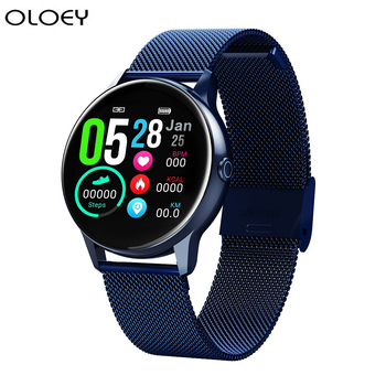 2020 New Smartwatch IP68 Waterproof Wearable Device Heart Rate Monitor Sports Fitness Smart Watch For Android IOS Long Standby diggro di10 smart sport watch ip68 waterproof pedomete long standby time bluetooth 4 0 smart 1 21 inch watch for ios android