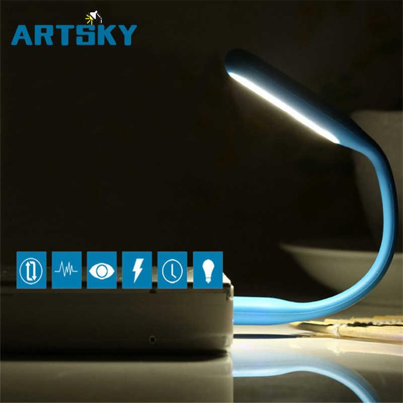Гибкий USB LED Свет Портативный USB супер яркий светодиодный свет для мобильного питания компьютер ноутбук, настольный компьютер