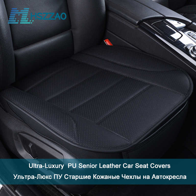 Bardzo luksusowy fotelik samochodowy ochrony pojedyncze siedzenie bez oparcia PU senior leather pokrycie siedzenia samochodu dla większości czterodrzwiowy Sedan i SUV