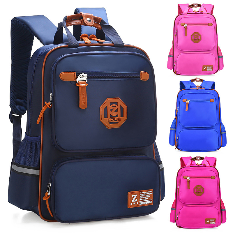 Children Primary School Bags For Boys Kids Waterproof Backpacks England Style School Backpack Girls Satchel Orthopedic Schoolbag