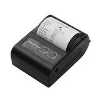 Impresora portátil inalámbrica BT 58Mm de recibos térmicos Mini cuenta Personal impresora móvil para IOS Android Windows