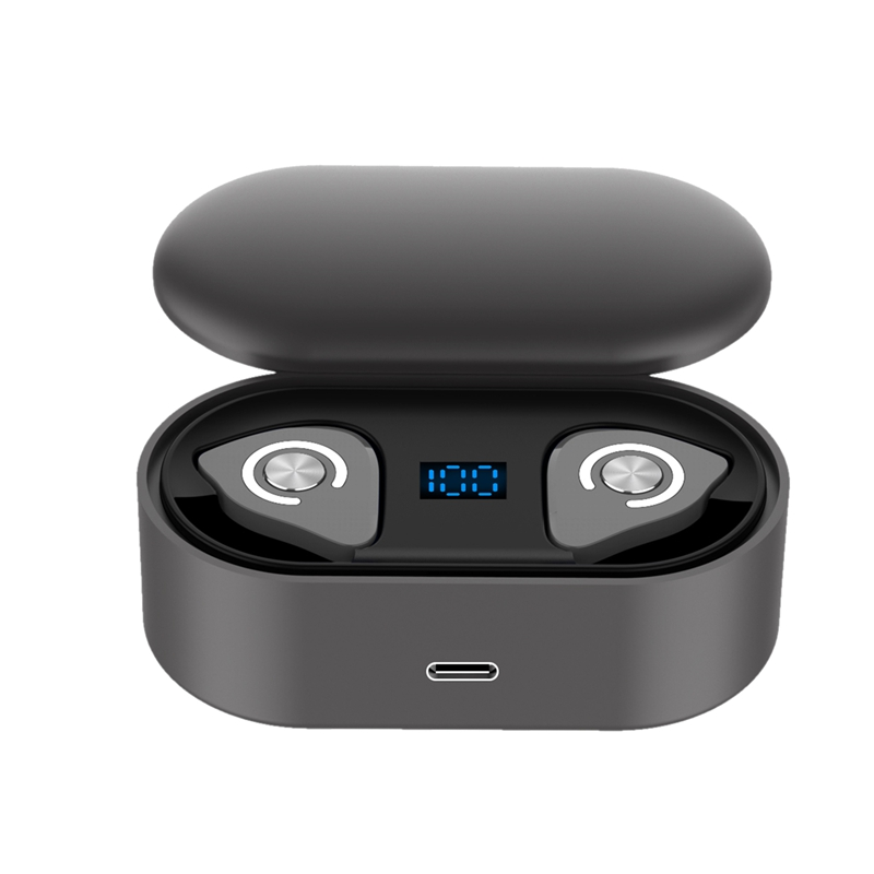 <font><b>M9</b></font> <font><b>TWS</b></font> Bluetooth Earphones Wireless Headphones 3D Stereo True Wireless Earbuds Sports HiFi Headset with Dual Microphone image