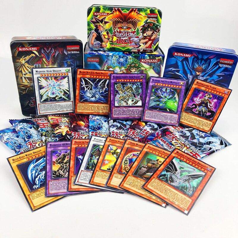 100pcs No repetition Yu gi oh Rare Flash Cartes Yu Gi Oh Jeu Papier Cartes Enfants Jouets Fille Gar&on Collection Yu-Gi -Oh Card 1