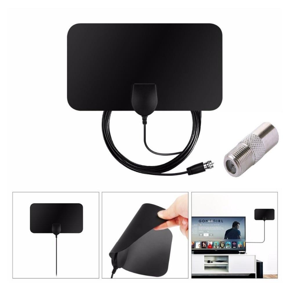50 Miles 1080P Indoor Digital TV Antenna Signal Receiver Amplifier TV Radius Surf Fox Antena HDTV Antennas Aerial Mini DVB-T2