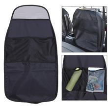 غطاء مقعد السيارة حامي المنظم حقيبة التخزين مقاوم للماء العالمي مقعد السيارة الخلفي جرجر الأوساخ حماية للطفل الأطفال ركلة حصيرة