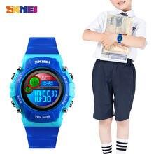 Часы наручные skmei Детские с секундомером водонепроницаемые