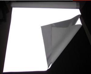 Image 3 - סופר רחב 140cm לילה בהיר רעיוני בד, תנועה בטיחות אזהרת חומר. רעיוני בגדי בד, ניאון מסך