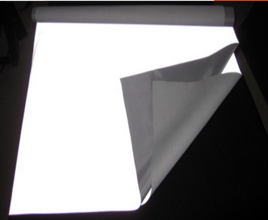 Image 3 - Super wide 140cm night  bright reflective fabric, traffic safety warning material.reflective clothes cloth, fluorescent screen-in Reflective Material from Security & Protection