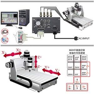 Image 5 - 미니 CNC 밀링 머신 2520 cnc 조각 기계 250*200mm 작업 영역 cnc 라우터