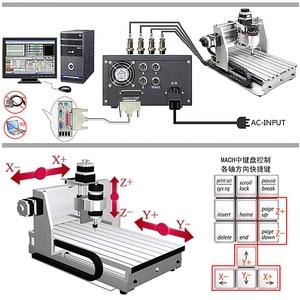 Image 5 - Mini, fraiseuse CNC, machine à graver 2520 cnc, surface de travail 250x200mm, routeur cnc