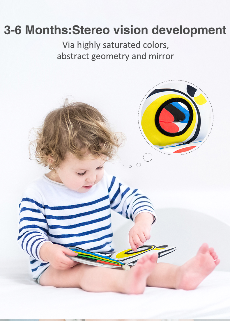 Visual Quiet Book for Babies