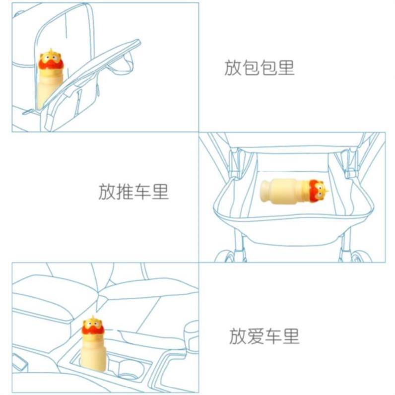 Thick Urination Brigade Car Mounted Emergency Urinal Women's Highway Car Thick Boy-Small Bucket New Style Night Station