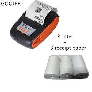 Image 3 - GOOJPRT PT210 Мини карманный беспроводной принтер, термопринтер чеков, Bluetooth, Android, iOS, поддержка телефона ESC / POS