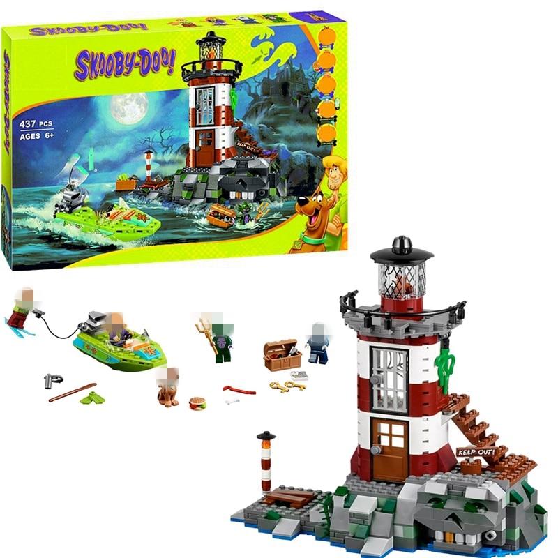 Scooby Doo Haunted Lighthouse Building Blocks Kit