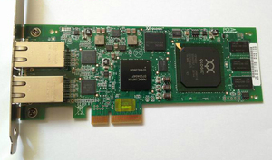 QLogic Dual Port 1GB iSCSI PCIe HBA Host Bus Adapter Card QLE4062C network card full profile(China)