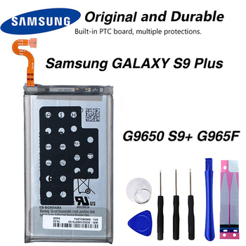 Original Samsung EB-BG965ABE Battery For Samsung GALAXY S9 Plus G9650 S9+ G965F Phone Rated 5.0 /5 base 3500mAh смартфон samsung galaxy s9 sm g965f 64gb бургунди