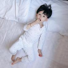 Г. Весенне-осенняя белая мягкая Пижама, комплект для девочек, детский тонкий хлопковый набор для купания, белые пижамы с золотой вишней, комплект одежды для сна