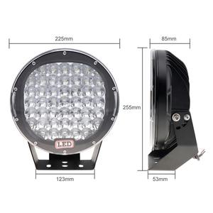 Image 2 - Round LED Spotlights 225W 45x  LED  Car Light Bar As Worklight Spot Light For Boating Fishing SUV Spotlight LED Lights
