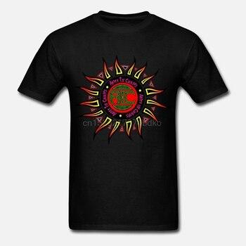 Camisetas estampadas para hombre Streetwear Alicia en cadenas camiseta Logo para hombre Camiseta negra camiseta para hombre estampada camisetas Casuales