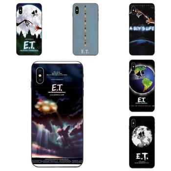 A Boy Et The Extra Terrestrial For Apple iPhone 4 4S 5 5S SE 6 6S 7 8 11 Plus X XS Max XR Pro Max Diy Colorful Printing TPU image