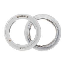 Lens Mount Adapter Ring for Sony FE E Manual MF Lenses and Nikon Z7 Z6 Z50 Z Camera Body NEX Z