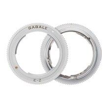 Objektiv Mount Adapter Ring für Sony FE E Manuelle MF Linsen und Nikon Z7 Z6 Z50 Z Kamera Körper NEX Z