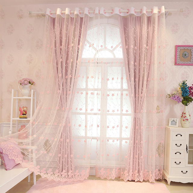 European and American Style Curtains 1
