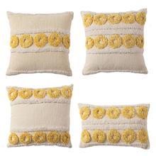 Bohemian Texture Woven Cushion…