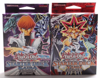 Yu-Gi-Oh! Starter Deck: Kaiba Reloaded - New And Sealed Box-50 Cards + Game Mat
