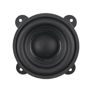 Image 2 - GHXAMP 3.5 pouces basse Woofer haut parleur Subwoofer 88mm Super dur bord en caoutchouc 4 ohm 50W grand magnétique en acier cuivre bobine vocale