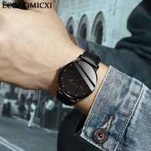 цена на Minimalist Watch For Men Luxury Casual Fashion Business Watches Military Leather Analog Quartz Wrist Watch Male Sport Watches